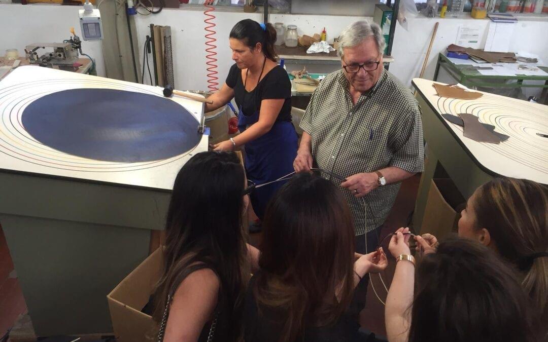 POLIMODA x 倫敦聖馬丁雙城暑期課程皮件工廠參訪